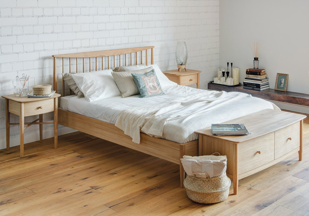 ANAIS Oak Bedroom Furniture by TCH