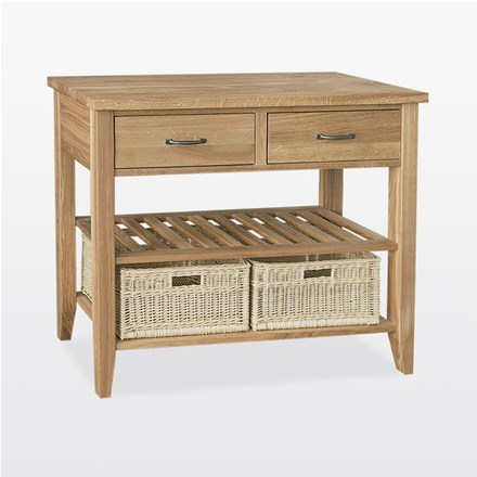 Windsor - Double Basket Console Table - WIN32