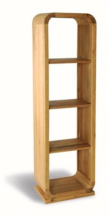 sale retailer 31ca5 21c88 OAK LOUNGE - Narrow Bookcase with 3 Shelves from Orchards