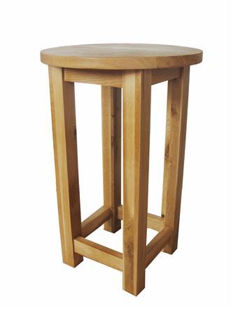OAK - ROUND WINE Table