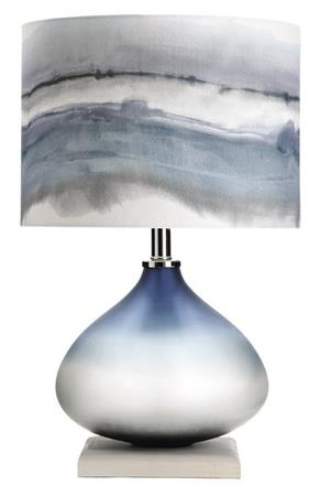 ELEMENTAL - BEZALEL Ombre Table Lamp  with Shade