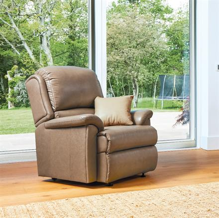VIRGINIA - Leather Chair - by Sherborne