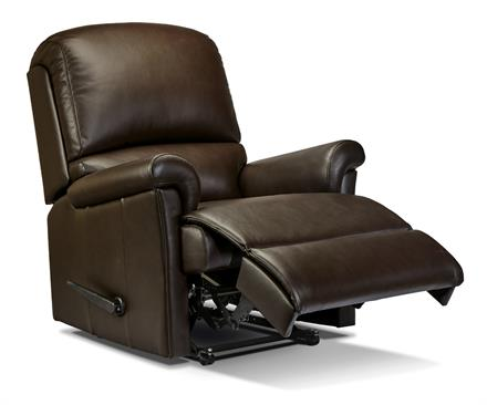 Nevada Recliner Leather Chair - by Sherborne