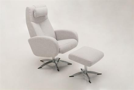 1299  Swivel Chair - Fully Upholstered