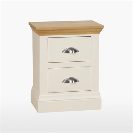 Coelo - Small 2 Drawer Bedside Chest - COL801 HG/L