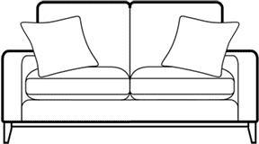 FAIRMONT - 3 Seater Sofa