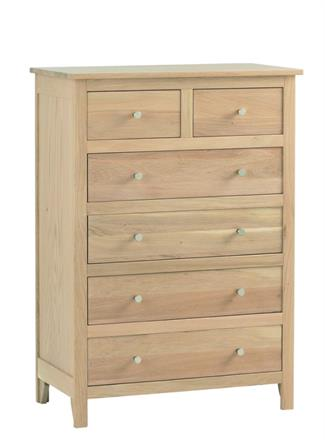 Nimbus - 2+4 Drawer Chest - 1209