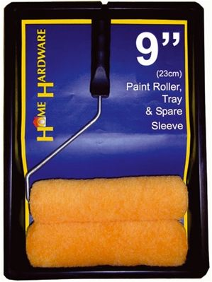 Paint Roller, Tray and Spare Sleeve