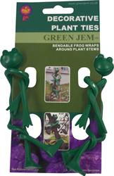 Green Jem 2 Frog Style Plant Ties