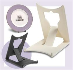 Leeds Display Clip Plate Stands