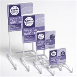 Leeds Display Plastic-Coated Wire Plate Stands