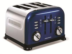 Morphy Richards 4 Slice Toaster Accents Blue