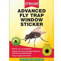 Rentokil Window Sticker Advanced Fly Trap - Pesticide Free&categoryID=11261