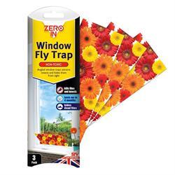Zero In Window Fly Trap 3 Pack