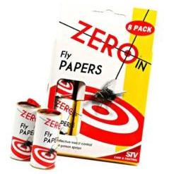 Zero In 8 Pack of Fly Papers