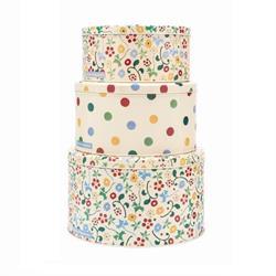 Emma Bridgewater Floral Polka Dot Round Cake Storage Tins