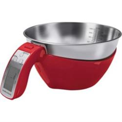 Morphy Richards 3 in 1 Jug Kitchen Scales | Black, Red & White&categoryID=11256