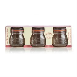 Kilner Jars Round Clip Top Glass 500ml Set of 3