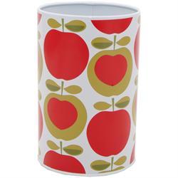Typhoon Enamel Kitchen Utensil Pot with Apple Hearts