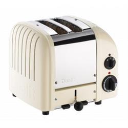 Dualit Vario Canvas White 2 Slice Toaster
