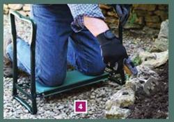 Briers Foldaway Garden Kneeler Pad & Stool
