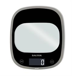 Salter Electronic Digital Kitchen Scales Curved Glass