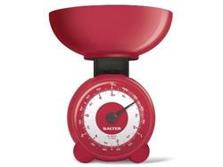 Salter Red Orb Mechanical Kitchen Scales