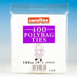 Caroline 400 Reusable Twisty Bag Ties