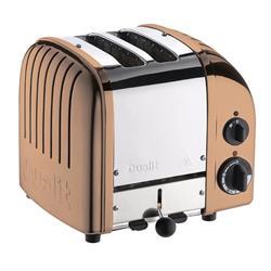 Dualit Classic Vario 2 Slice Toaster Copper