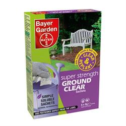 Bayer Super Strength Ground Clear Weedkiller 6 Sachet