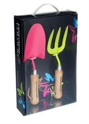 Spear & Jackson Colours Gardening Trowel & Fork Giftset