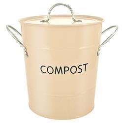 Eddingtons Buttercream Compost Pail / Bin 3.2 Litre