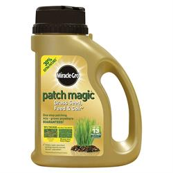 Miracle Gro Patch Magic Grass Seed, Feed and Coir Shaker Jug 1KG