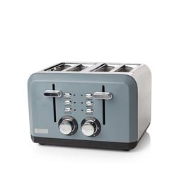Haden Perth Sleek Slate Grey 4 Slice Toaster
