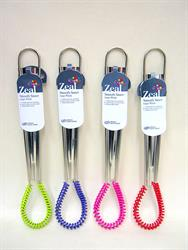 Zeal Silicone Smooth Sauce Whisk Medium