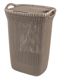 Curver Curve Resin Knit Laundry Hamper 57 Litre