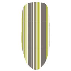 Verdant Green Stripe Ironing Board Covers