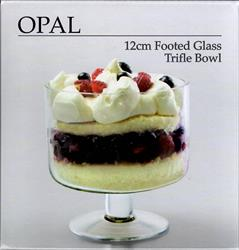 Opal 12cm Footed Glass Trifle Bowl