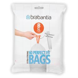 Brabantia 5 litre Size B Bin Liners Dispenser Pack