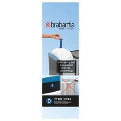 Brabantia 18 Litre Size Q Bin Liners