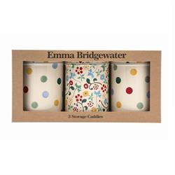 Emma Bridgewater Polka Dot Set of 3 Storage Canisters