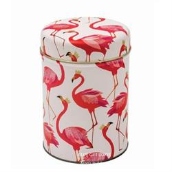Sara Miller Flamingo Round Storage Caddy