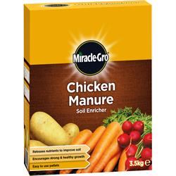 Miracle Gro Chicken Poultry Manure Soil Enricher