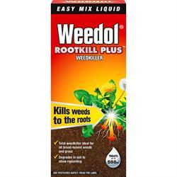 Weedol Rootkill Plus Weedkiller Liquid Concentrate Bottle 500ml