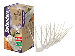Defenders Easy Install Bird Spikes 2m (6 x 33cm)