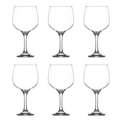 Lav Combinato set of 6 Gin Glasses