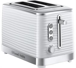 Russell Hobbs Inspire 2 Slice Toaster White