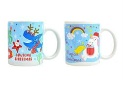 RSW Shark/Unicorn Christmas Mug