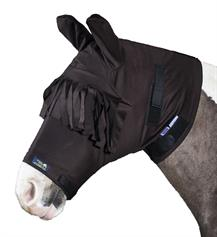 Anti-Itch Horse Mask - Brown