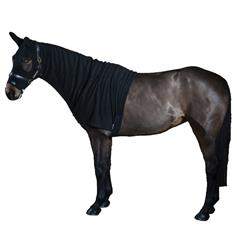 Jams Fleece Stable Horse Hood - Black